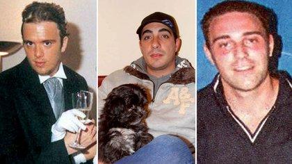 Víctimas del triple crimen de General Rodríguez: Sebastián Forza, Leopoldo Bina y Damian Ferron.  162