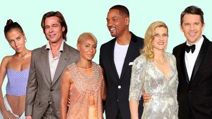 Brad Pitt y Nicole Porturalski; Wil Smith y Jada Pinkett Smith y Ethan Hawke y Ryan Shawhughes, entre las parejas que apuestan a las relaciones abiertas