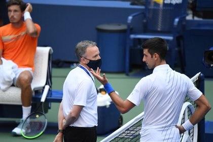 La Frase De Novak Djokovic Al Arbitro Tras La Agresion A La Jueza De Linea No Va A Tener Que Ir Al Hospital Por Esto Infobae
