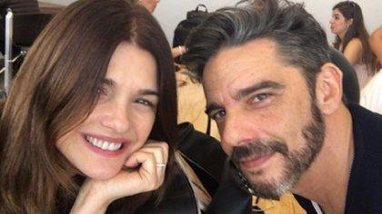 Araceli agradeció el cuidado de Fabián Mazzei