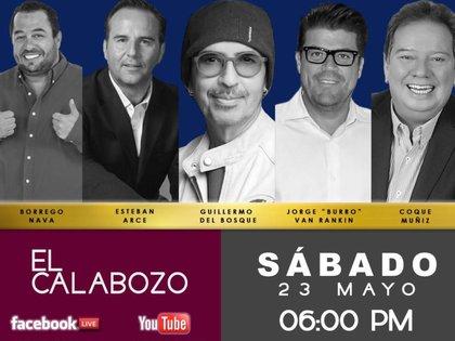 """Jorge """"EL Burro"""" Van Rankin, Esteban Arce y Memo del Bosque se reunirán (IG: memodelbosquetv)"""