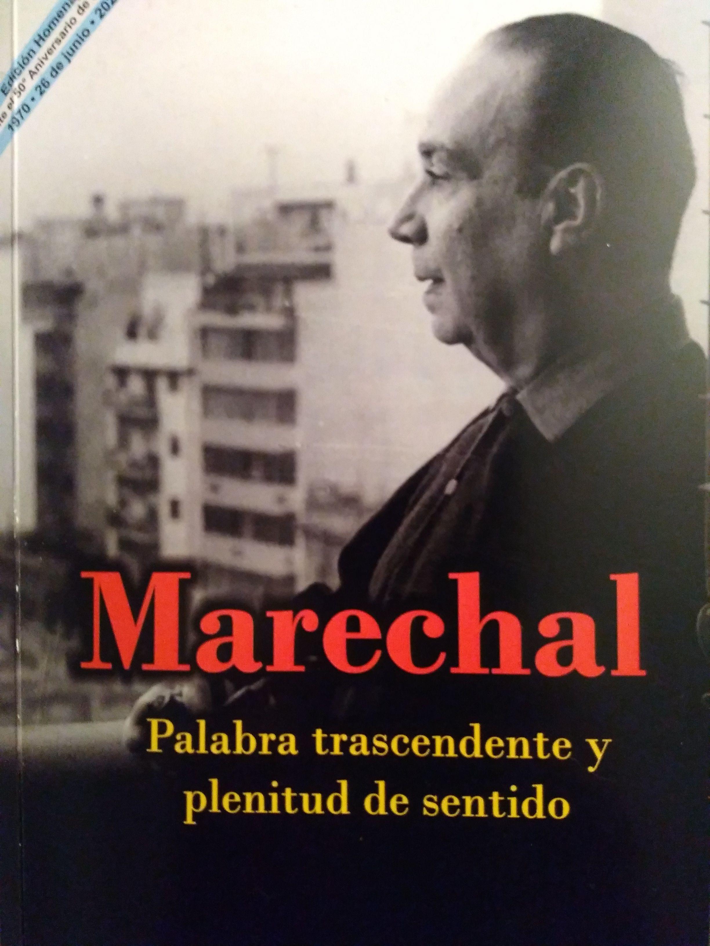 El ensayo de Pedro Barcia sobre Marechal