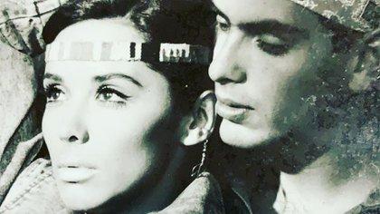 Mayra Rojas y Xavier Ortiz se conocieron en el modelaje, en el año 1988 (Foto: Cortesía)