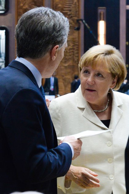Angela Merkel en la Cumbre del G20 (Presidencia)