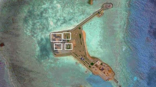 China ha estado militarizando diferentes islas y arrecifes disputados por varios países en elPacífico