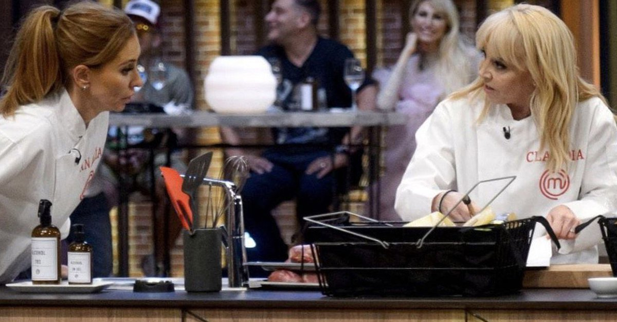 The remarkable rating peak reached in the Masterchef Celebrity final, with the consecration of Claudia Villafañe