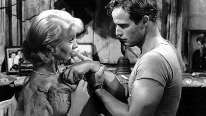Vivien Leigh y Marlon Brando en el film de Elia Kazan de 1951