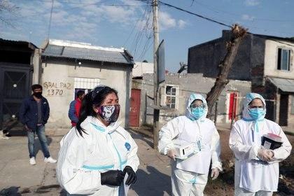 Argentina sigue teniendo un porcentaje alto de casos de coronavirus en el interior (REUTERS/Agustín Marcarián)