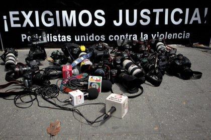 La SIP denunció la intimidación y las detenciones masivas a periodistas (EFE/Esteban Biba/Archivo)