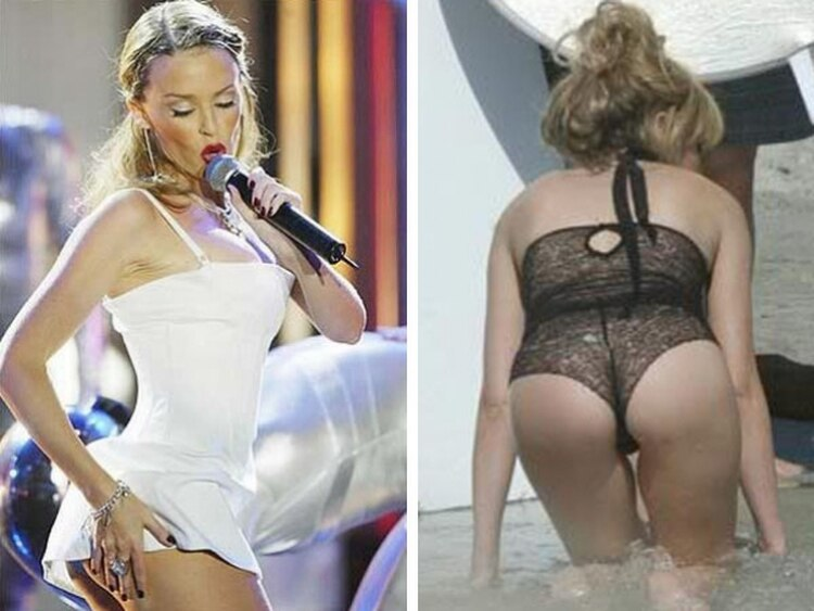 Kylie Minogue Se Desnudó En Twitter Infobae