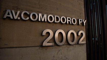 El juicio está a cargo de un tribunal oral de Comodoro Py y se hará de manera virtual por la pandemia (Foto: Franco Fafasuli)