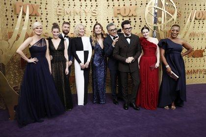 """""""Schitt's Creek"""" se llevó 7 estatuillas en la entrega de los premios Emmy 2020"""