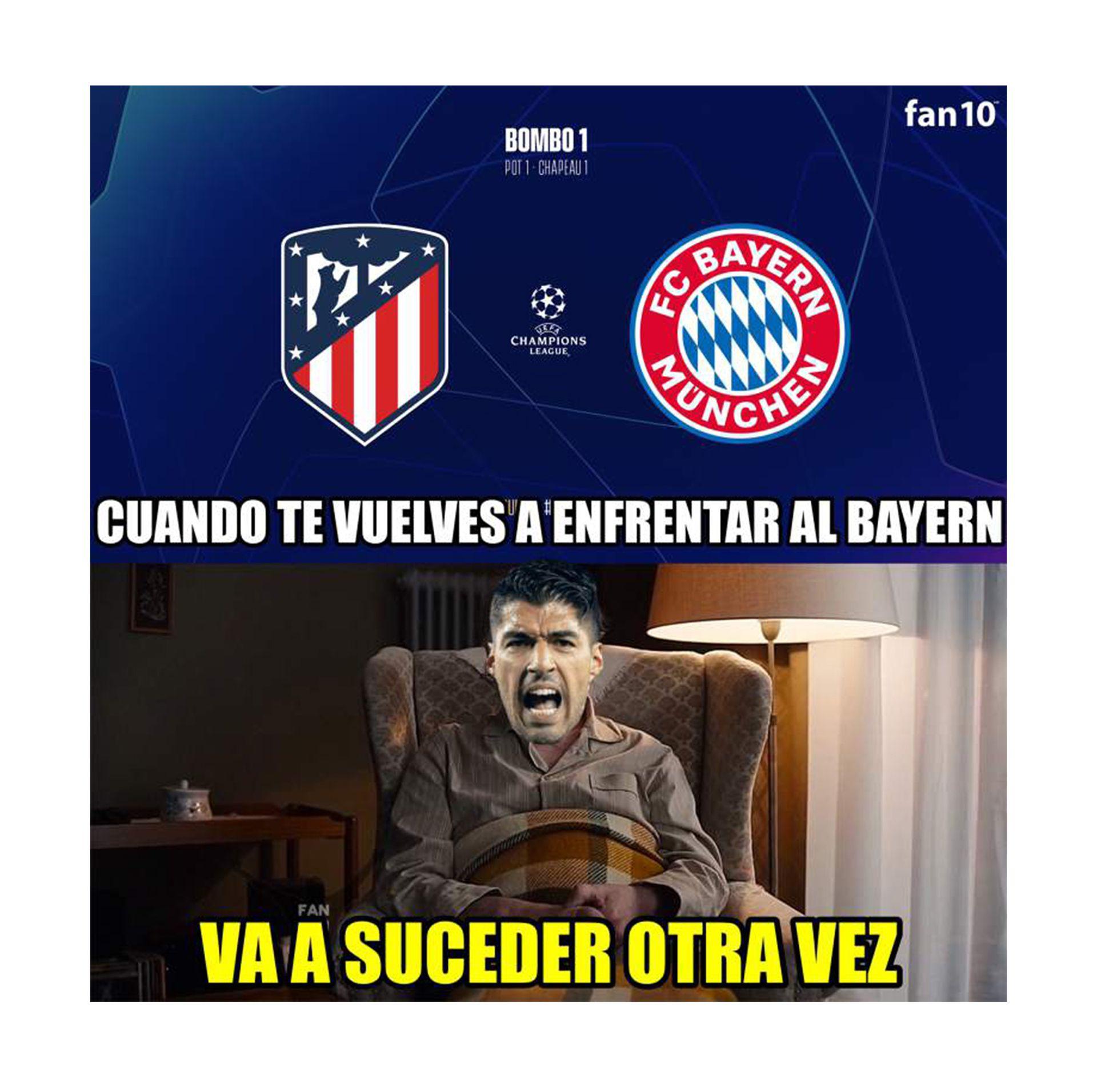 memes sobre la champions league