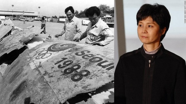 Los restos del vuelo Korean Air 858 y Kim Hyon-hui, la norcoreana que colocó una bomba de tiempo en el avión