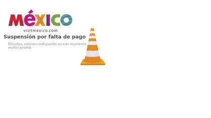 Hace dos semanas, la plataforma visitmexico fue suspendida por falta de pago (Foto: Captura de pantalla)