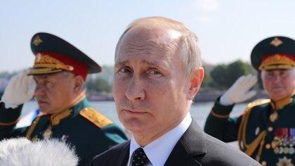 El presidente de Rusia, Vladimir Putindiagramó un sistema de hackers destinado a golpear en la economía y la política de otras potencias (AFP)