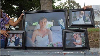 Fernanda Peña y Alejandro Castro regresaban de su boda cuando murieron (Foto: Cuartoscuro)
