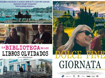 """""""La biblioteca de los libros olvidados"""" y """"Un atardecer en la Toscana"""""""