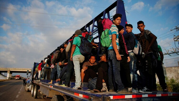 Pompeo también tratará en México y El Salvador la creciente ola migratoria (Foto: REUTERS)
