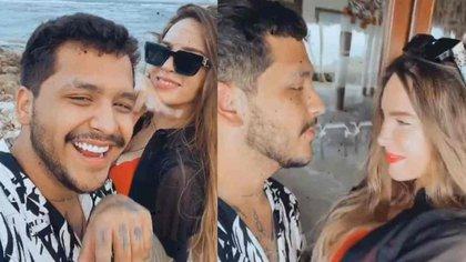 La pareja voló a Punta Cana a celebrar el cumpleaños de la cantante (Foto: Instagram @nodal)