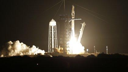 SpaceX lanzó su tercera misión tripulada a la Estación Espacial Internacional