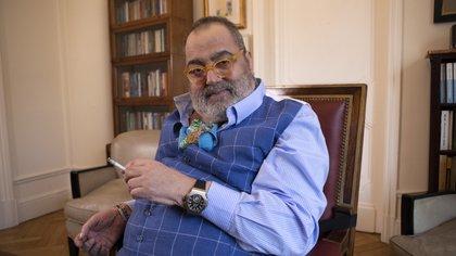 Jorge Lanata dio negativo de coronavirus tras realizarse un hisopado en la Fundación Favaloro