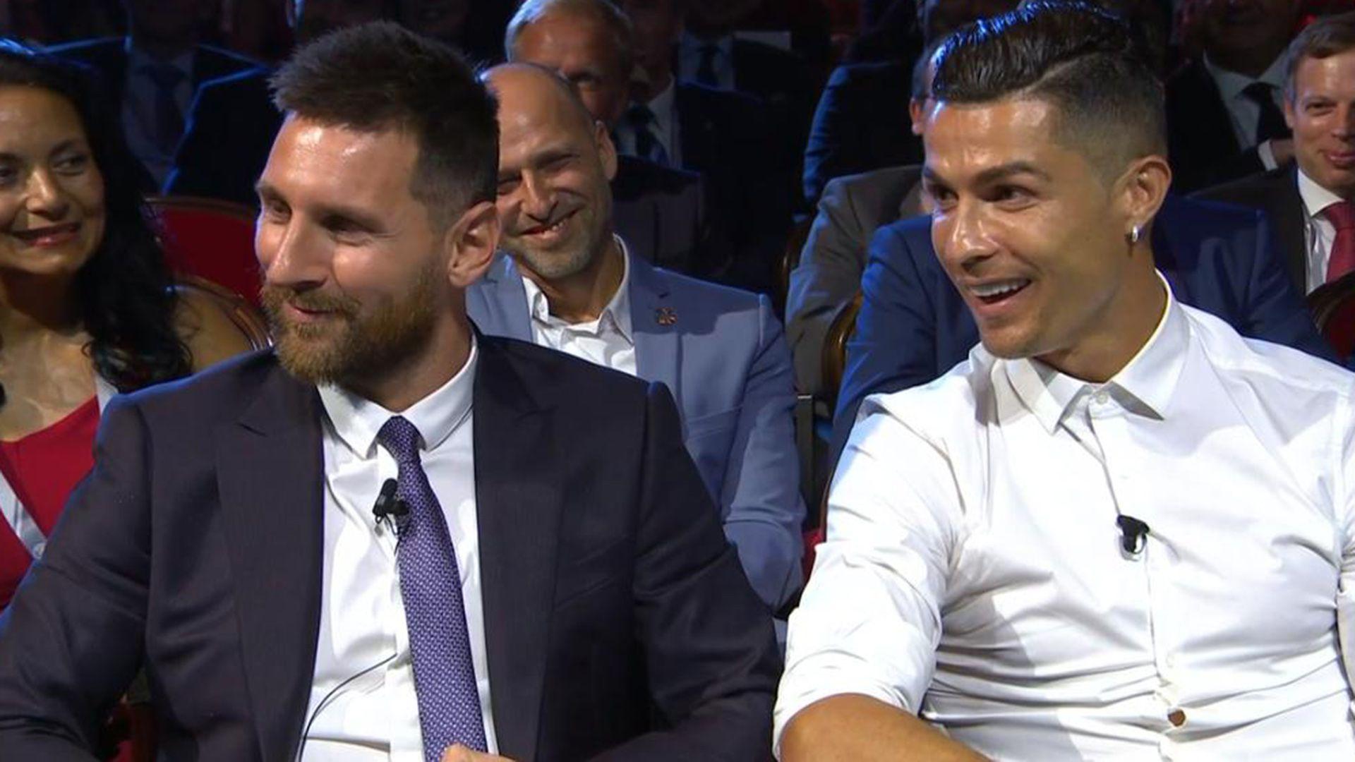 Cristiano Ronaldo y Lionel Messi compartieron varias ceremonias de premiación de la FIFA
