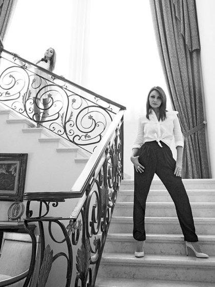 En 2014, Angélica Rivera y su hija Sofía Castro posaron en Los Pinos para la revista Marie Clarie (Foto: Gregory Allen, Marie Claire)