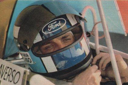 En 1979 cuando corrió en la Fórmula 2 Europea, categoría que era antesala a la Fórmula 1.