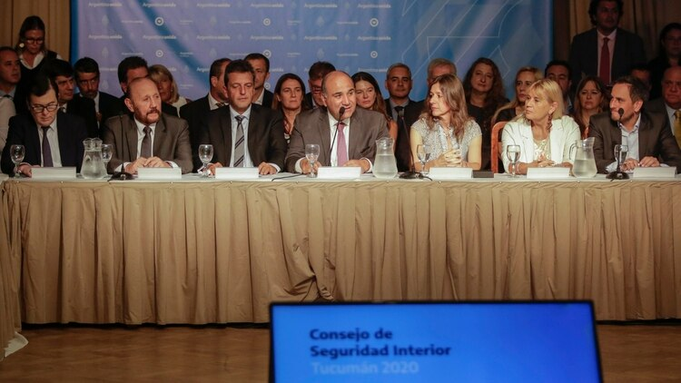 El Consejo Federal de Seguridad Interior se reúne en Tucumán