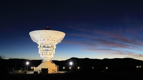 La estación espacial china en Bajada del Agrio, Neuquén