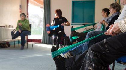 La rehabilitación es clave para mantener los músculos activos (Shutterstock)
