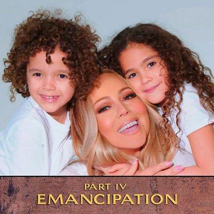 El libro está dedicado a sus hijos mellizos, Roc y Roe (@mariahcarey)