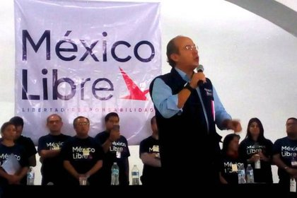 Felipe Calderón y su organización México Libre (Foto: especial)