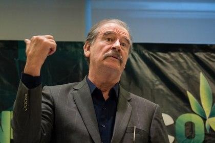 Vicente Fox Quesada, ex presidente de México, es uno de los principales detractores de la 4T (Foto: Archivo/Cuartoscuro)