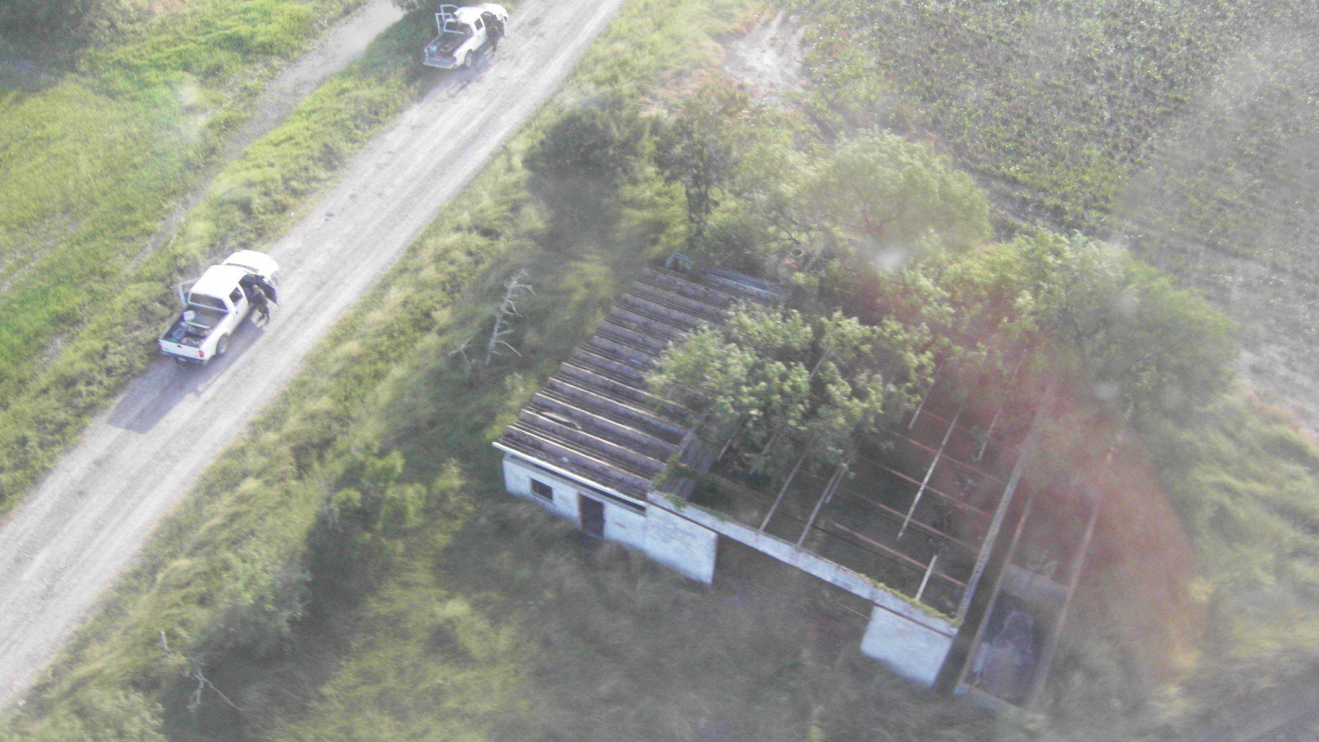 El rancho donde fueron hayados los 72 migrantes masacrados (Foto: Cuartoscuro)