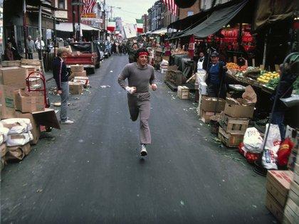En Rocky II, la revancha. El personaje ya se había convertido en un éxito mundial (Shutterstock)