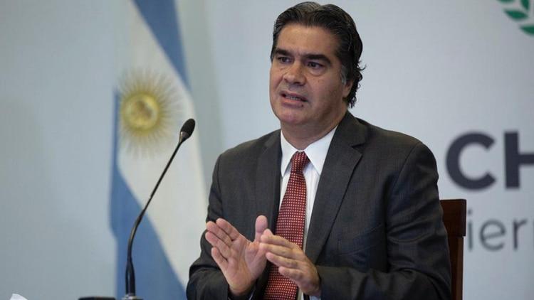 El gobernador, Jorge Capitanich, sostuvo que en Chaco la cuarentena deberá seguir hasta agosto