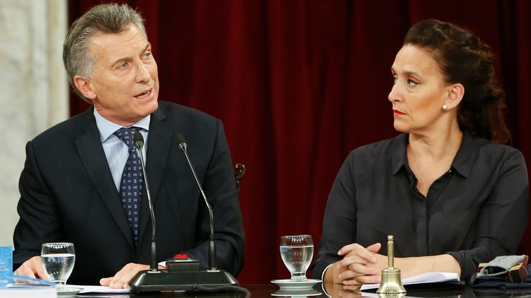 Peña manifestó que Gabriela Michetti puede ser nuevamente candidata a vicepresidente de Mauricio Macri. (Photo by Gabriel Rossi/LatinContent/Getty Images)