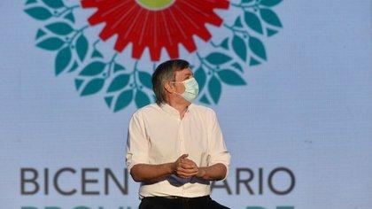 El presidente del bloque de diputados del Frente de Todos, Máximo Kirchner (Aglaplata)