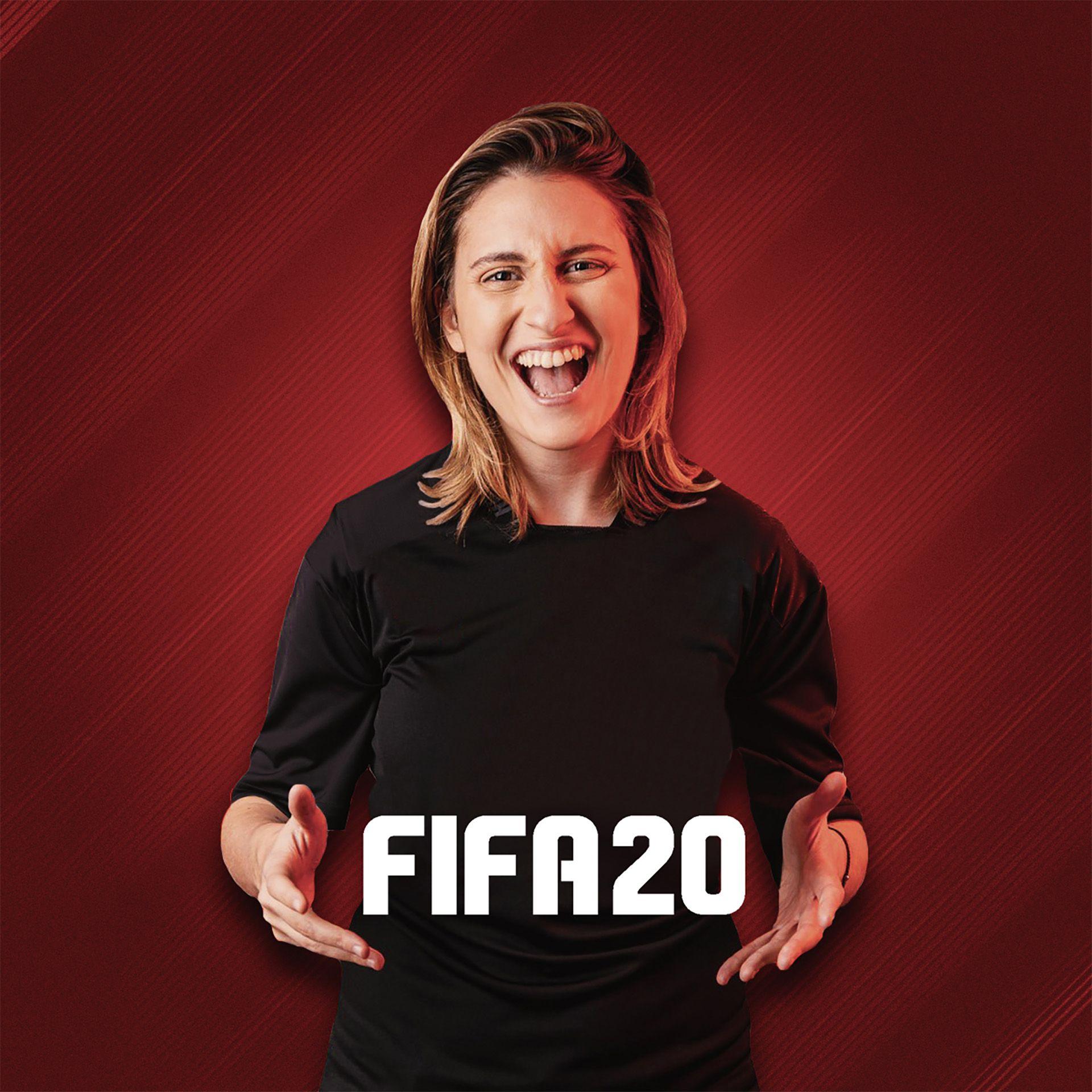 """""""Carolo"""" Vázquez, creadora de Pibas jugando al FIFA"""