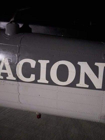 La aeronave sobrevolaba el municipio de El claro, Sonora (Foto: Facebook/Expresiónbcs)
