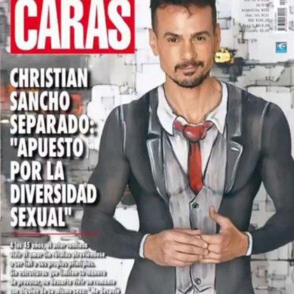 Christian Sancho generó revuelo al asegurar que apostaba por la diversidad sexual (Foto: Instagram)