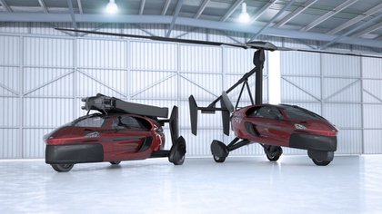 Los vehículos PAL-V presumen de una autonomía de vuelo de 500 kilómetros