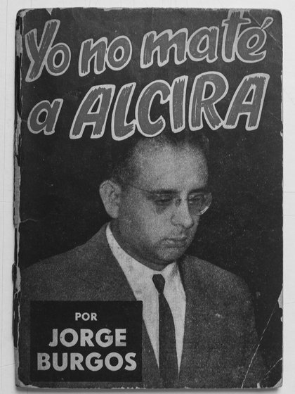 """Tapa del libro """"Yo no maté a Alcira"""""""