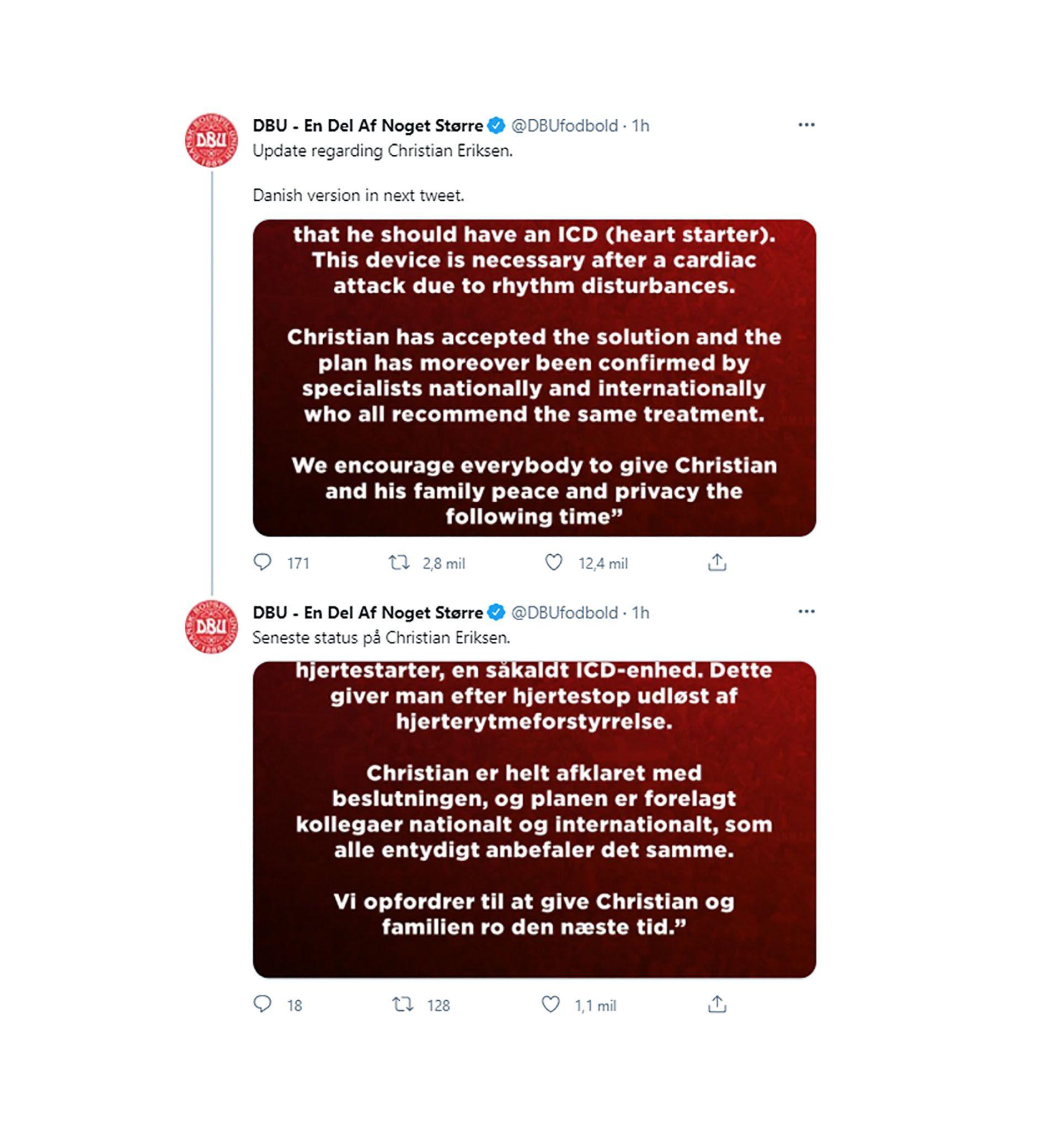 Captura - Tuit sobre operacion de corazon a Eriksen