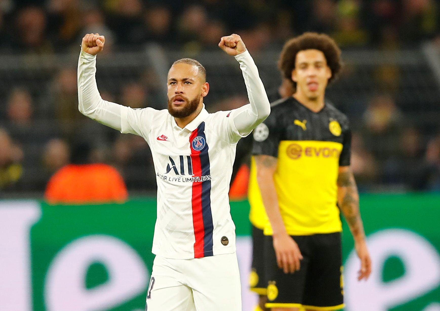 Neymar será el encargado de liderar a un Paris Saint Germain que intentará evitar su cuarta eliminación seguida en la Champions League (REUTERS)