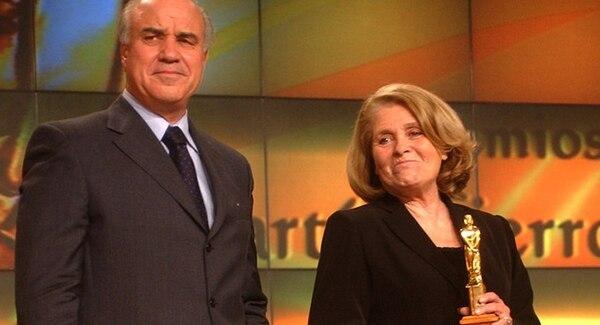 César Mascetti y Mónica Cahen D'Anvers