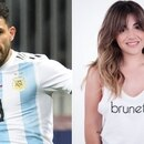 Sergio Agüero y Gianinna Maradona