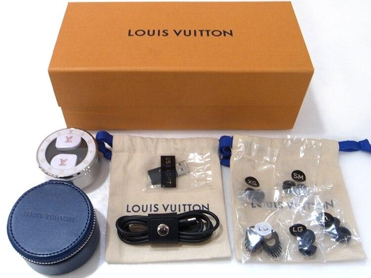 Cada auricular tiene un peso de 9 gramos (Foto: Louis Vuitton)